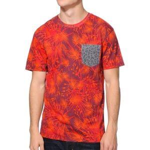◾️Zumiez Vans Atascadero Red Pocket T- Shirt